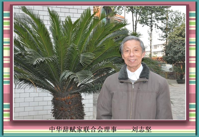 中赋刘志坚理事近照